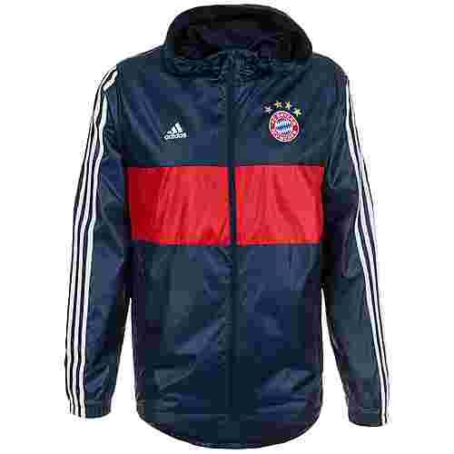 adidas FC Bayern München Windbreaker Herren blau / rot
