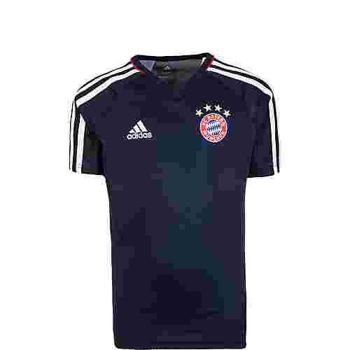 adidas FC Bayern München Fanshirt Kinder dunkelblau