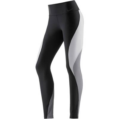 Nike Power Legend Tights Damen BLACK/PURE PLATINUM/COOL GREY