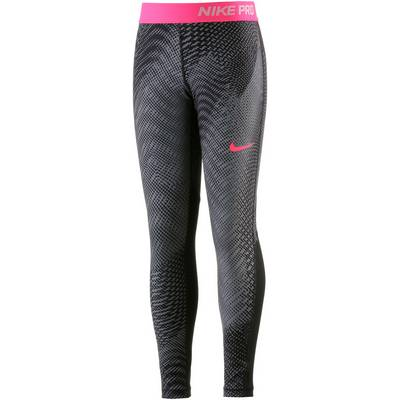 Nike Tights Kinder BLACK/BLACK/RACER PINK/RACER PINK
