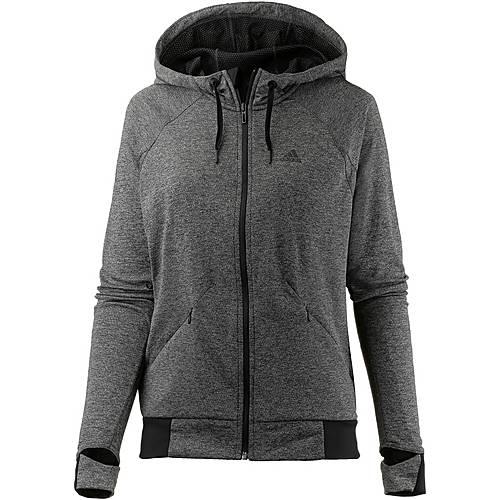 adidas Performance Trainingsjacke Damen BLACK HEATHER-TMAG