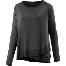 Deha Langarmshirt Damen dark grey