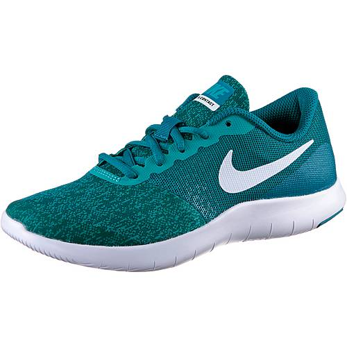 Nike Flex Contact Laufschuhe Kinder BLUSTERY/WHITE-TURBO GREEN