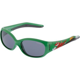ALPINA FLEXXY KIDS Sonnenbrille Kinder green plane
