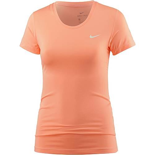 Nike Pro Dry Fit Funktionsshirt Damen lachs