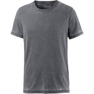 Jack & Jones T-Shirt Herren anthrazit washed