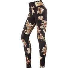 Deha Leggings Damen var.PPT-nero-prugna