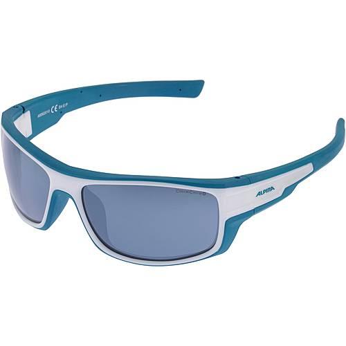 ALPINA Chill Ice CM+ Sportbrille white blue