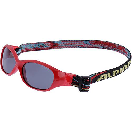 ALPINA SPORTS FLEXXY KIDS Sportbrille Kinder red