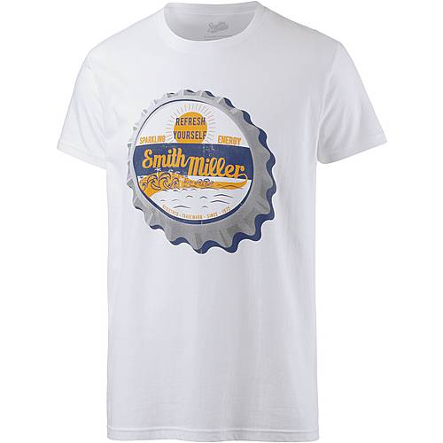 Smith and Miller refresh T-Shirt Herren white