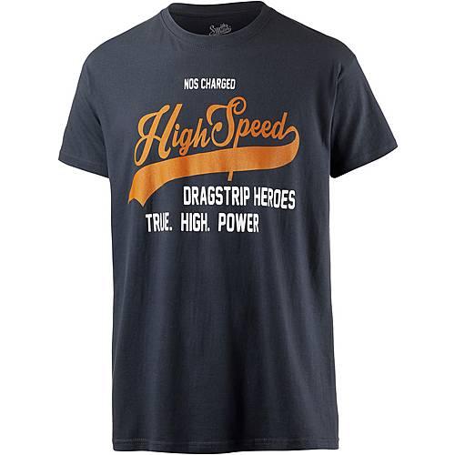 Smith and Miller high speed Printshirt Herren dark slade
