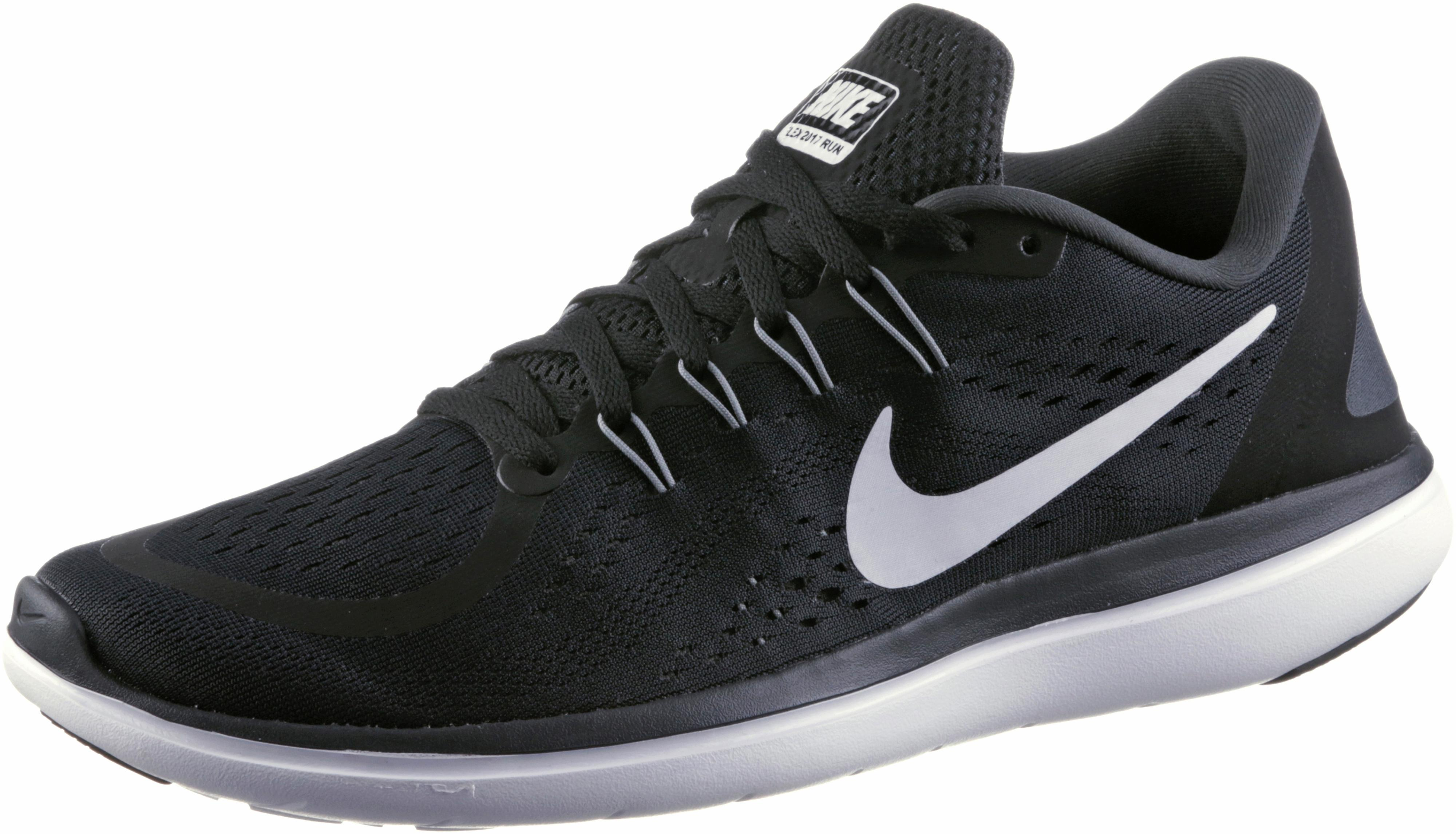 Nike Laufschuhe Flex 2017 RN black-white-anthracite-cool grey (898457-001) 45 schwarz isTSRqUF