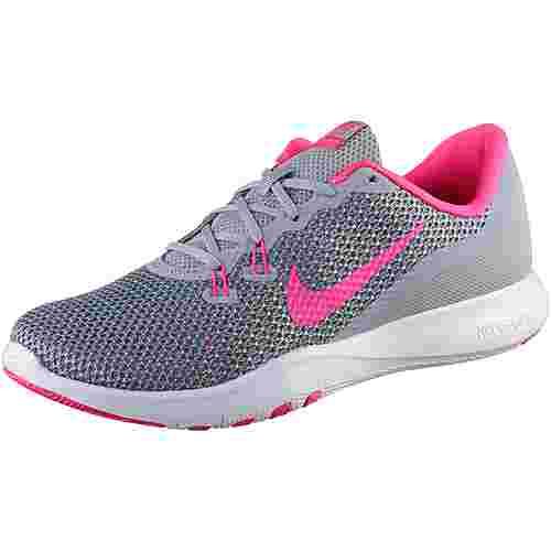 Nike Flex Trainer 7 Fitnessschuhe Damen WOLF GREY/RACER PINK
