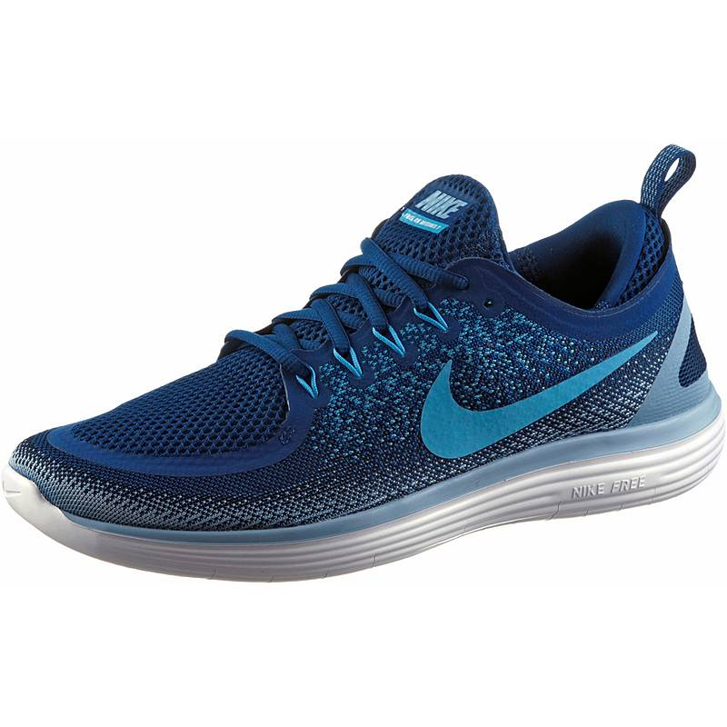 official photos 413d4 dfa4f NikeFREE RN DISTANCE LaufschuheHerren gym blue blue furybinary blue
