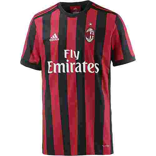 adidas AC Mailand 17/18 Heim Fußballtrikot Herren VICTORY RED