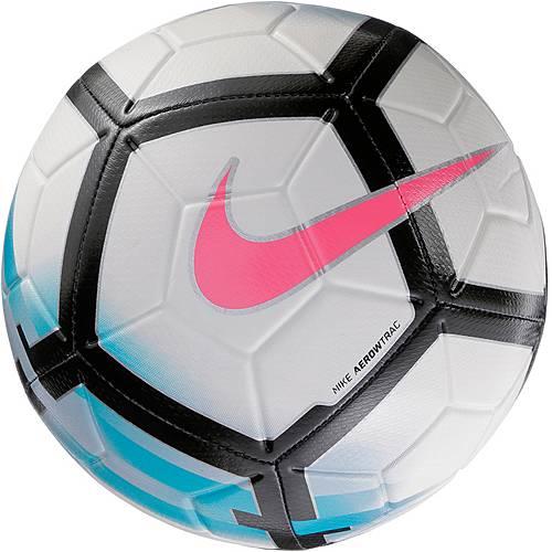 Nike Strike Fußball WHITE/BLUE ORBIT/BLACK/(HOT PUNCH)