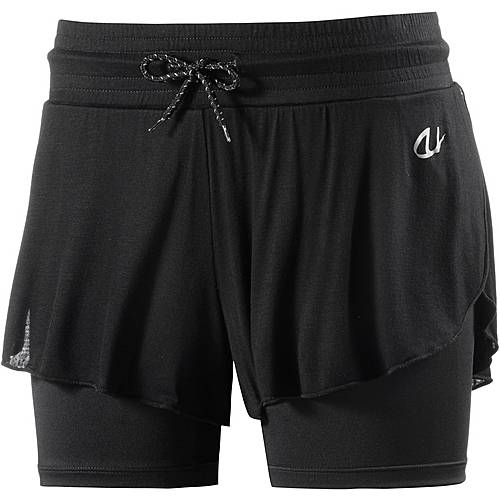 unifit Shorts Damen schwarz