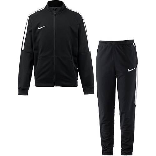 Nike Squad Trainingsanzug Kinder schwarz