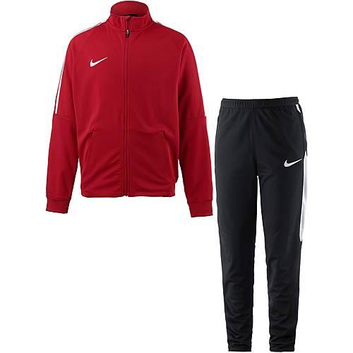 Nike Squad Trainingsanzug Kinder rot-schwarz