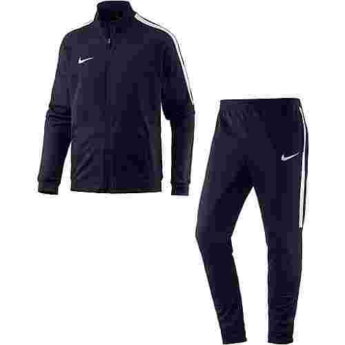 Nike Squad Trainingsanzug Herren obsidian-obsidian-white-white
