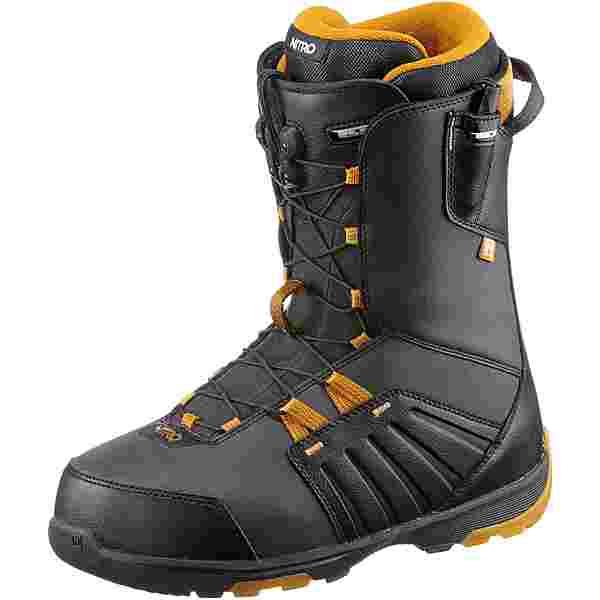 Nitro Snowboards THUNDER TLS Snowboard Boots Herren BLACK-WHISKEY