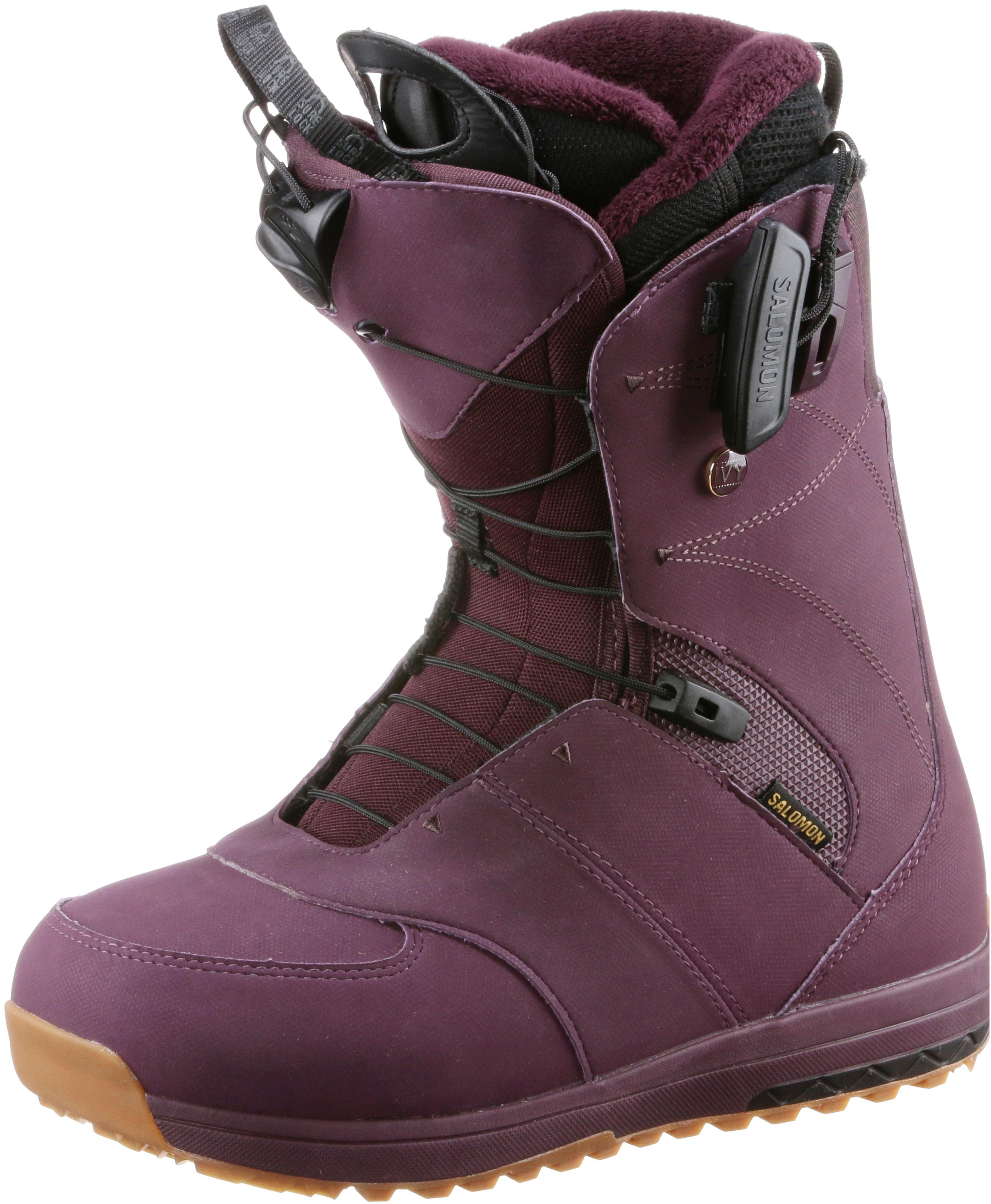 Salomon IVY Snowboard Stiefel Shop Damen Bordeaux im Online Shop Stiefel von SportScheck kaufen Gute Qualität beliebte Schuhe 8ae813