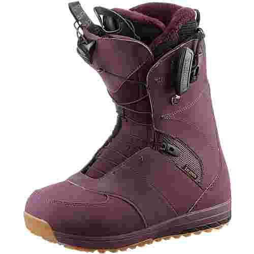 Salomon IVY Snowboard Boots Damen Bordeaux