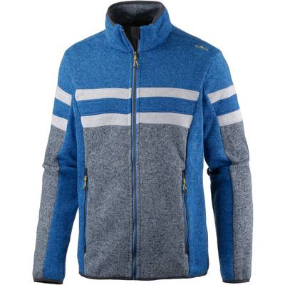 CMP Strickfleece Herren grau/blau