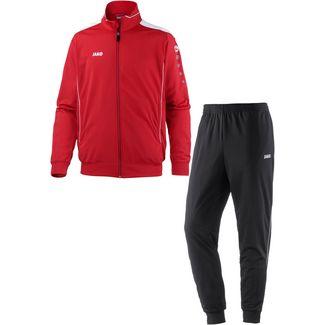JAKO CUP Trainingsanzug Herren rot-weiß
