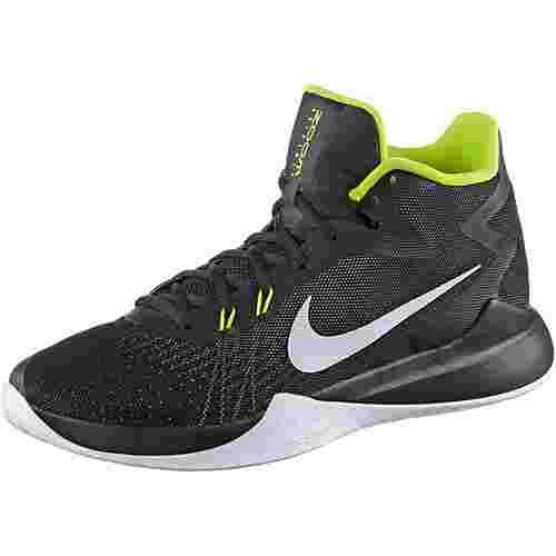 Nike ZOOM EVIDENCE Basketballschuhe Herren BLACK/WHITE-VOLT