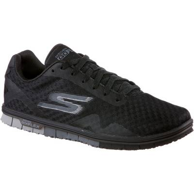 Skechers GO MINI FLEX SPEEDY Sneaker Damen Black Textile/ Trim