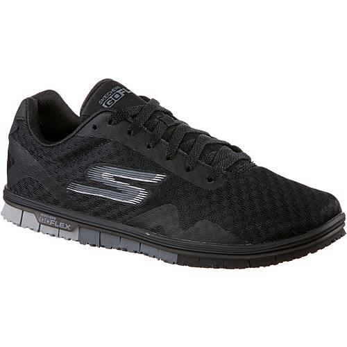 Skechers GO MINI FLEX SPEEDY Sneaker Damen Black Textile/ Trim