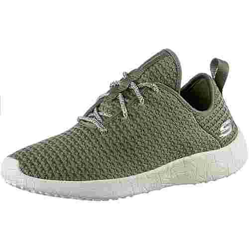 Skechers BURST CITY SCENE Sneaker Damen Olive Textile/ Trim