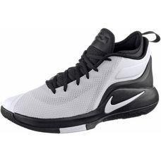 Nike LEBRON WITNESS II Basketballschuhe Herren white-white-black