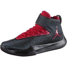 Nike JORDAN FLY UNLIMITED Basketballschuhe Herren anthracite-gym red-black