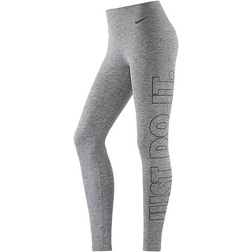 Nike Power Tights Damen CARBON HEATHER/BLACK
