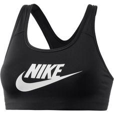 Nike Pro Classic Swoosh Futura Sport-BH Damen black-white