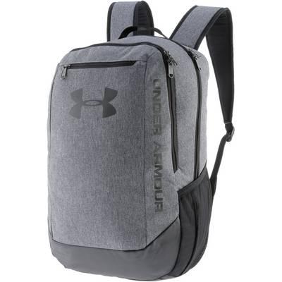 Under Armour Hustle Backpack Daypack Herren GRAPHITE / GRAPHITE / BLACK