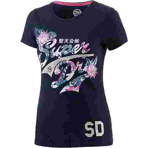 Superdry T-Shirt Damen navy