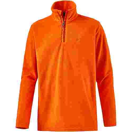 Protest Perfecty Fleecepullover Herren orange