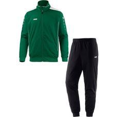 JAKO CUP Trainingsanzug Herren grün-weiß