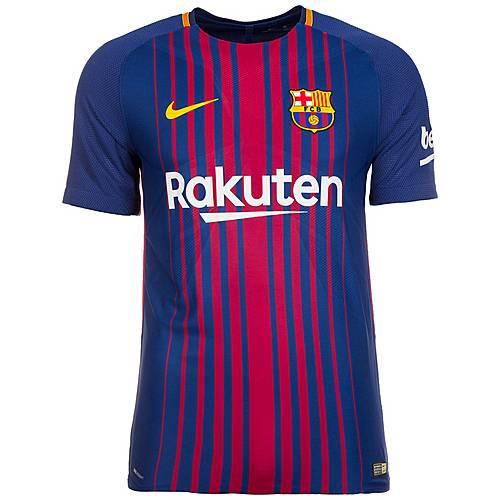 Nike FC Barcelona Vapor Match 17/18 Heim Fußballtrikot Herren dunkelblau / rot