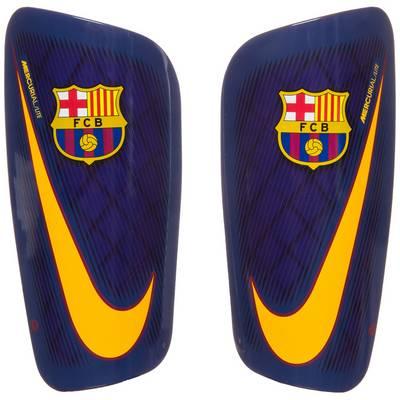 Nike FC Barcelona Mercurial Lite Schienbeinschoner dunkelblau / gelb