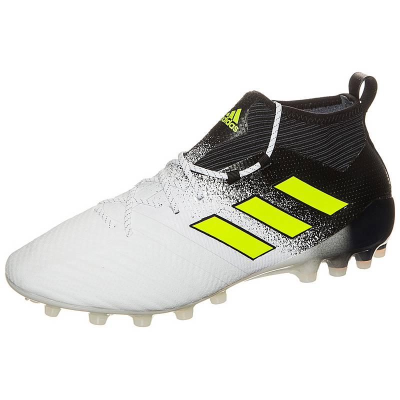 san francisco d2c5c c3f92 adidas ACE 17.1 Primeknit Fußballschuhe Herren weiß  schwarz