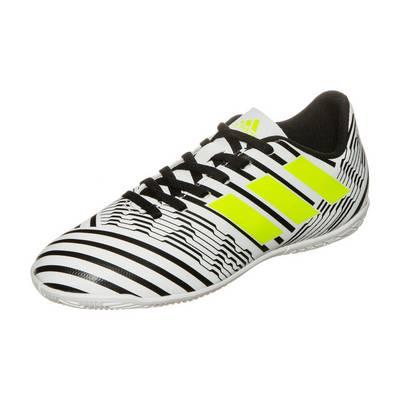 adidas Nemeziz 17.4 Fußballschuhe Kinder weiß / schwarz