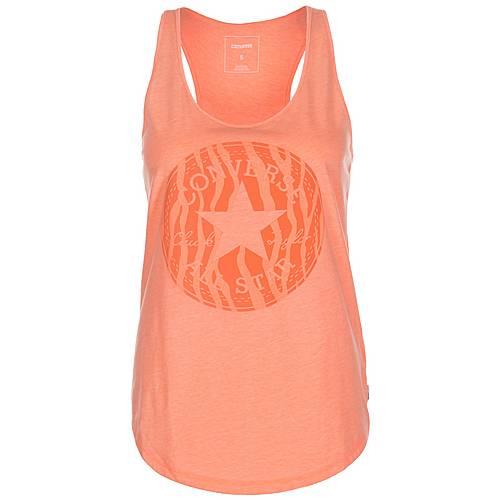 CONVERSE Zebra Fill Chuck Patch Classic Tanktop Damen orange