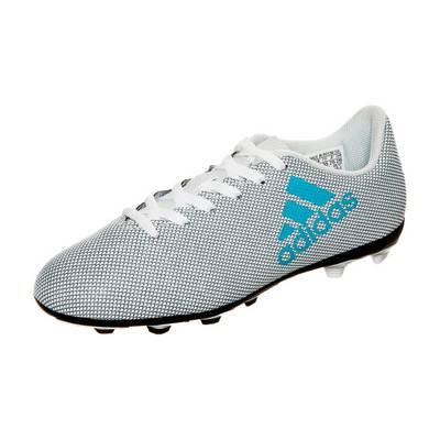 adidas X 17.4 Fußballschuhe Kinder weiß / hellblau