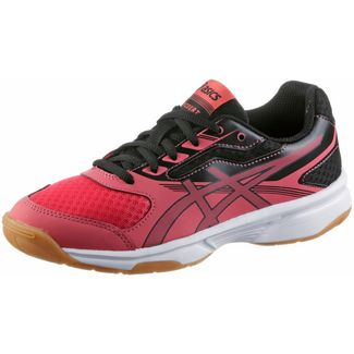 ASICS Upcourt Hallenschuhe Kinder rouge red/dark grey/black