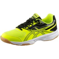 ASICS Upcourt Hallenschuhe Kinder safety yellow/dark grey/black
