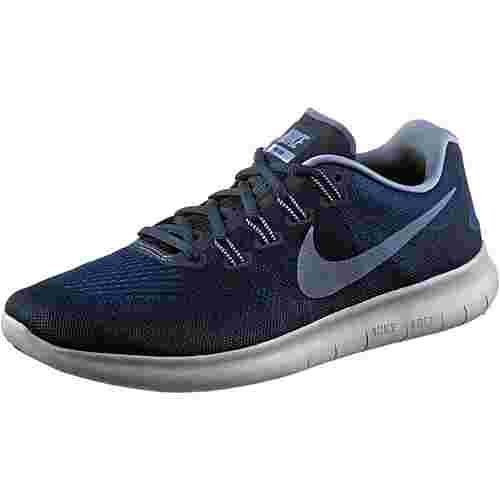 Nike FREE RN 2017 Laufschuhe Herren binary blue/dk sky blue